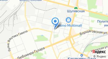 Управление государственной казначейской службы Украины в Соломенском районе г. Киева на карте