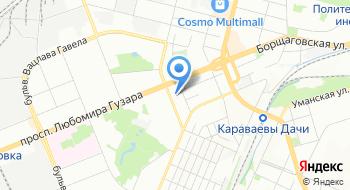 Авиационный медицинский центр Национального авиационного университета на карте