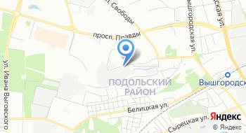 Технические ткани Украины на карте