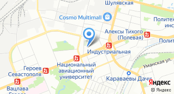 Школа-детский сад Кияночка на карте