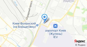 Компания Авиакурьер на карте