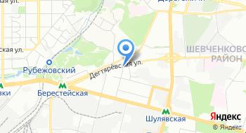 Союз профессионалов СПА-отелей и Wellness-курортов Украины на карте
