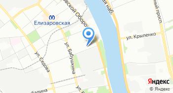 Военный комиссариат города Санкт-Петербурга по Невскому району на карте