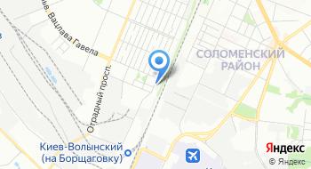 Южный Почтамт Киевской городской дирекции УГППС Укрпочта на карте