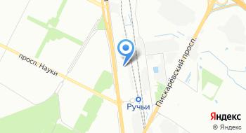 Тойота центр Пискаревский на карте