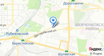 Киевский городской военный комиссариат на карте
