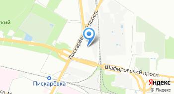 Ленинградский инструмент на карте