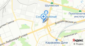 Йога Радуга Жизни на карте