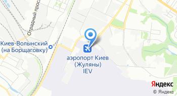 Аэропорт Киев Жуляни Терминал А на карте
