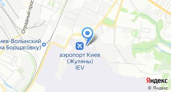 Аэропорт Киев Терминал D на карте