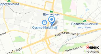 Управление государственной исполнительной службы Главного териториального управления юстиций в городе Киеве на карте