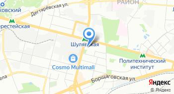 Регистратор доменных имен Рег.ру на карте