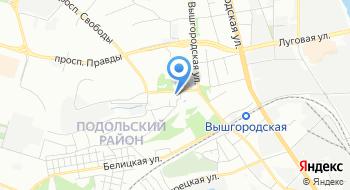 КНП Консультативно-диагностический центр Подольского района г. Киева на карте