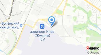 Аэропорт Киев Терминал B на карте