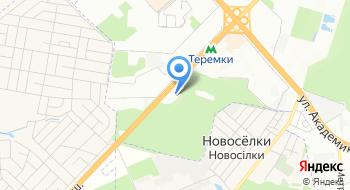 Автоцентр на Теремках на карте
