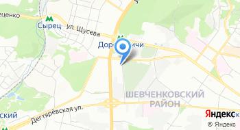 Киевское городское клиническое бюро судебно-медицинской экспертизы, Морг № 1 на карте