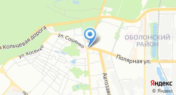 Автостанция Полесье на карте
