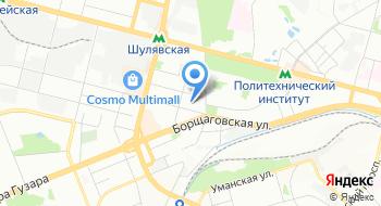 Украинский научно-технологический центр на карте