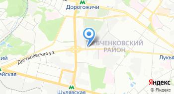 Торгово-промышленная палата Италии в Украине на карте