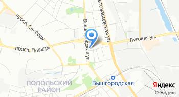 Ветеринарная аптека Укрзооветпромпостач на карте