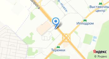 Автовокзал Теремки на карте