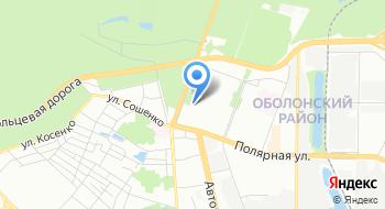 Управляющая компания по обслуживанию жилого фонда Оболонского района г. Киева на карте