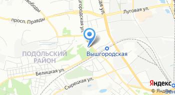 Интернет-магазин Кievmed на карте
