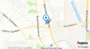 Оперативное управление финансовых расследований ГНИ в Оболонском районе ГУ ДФС Миндоходов в городе Киеве на карте