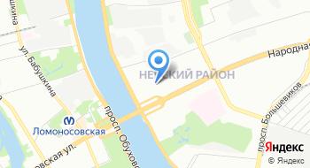 Мфдц Невский на карте