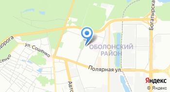 СК Трест Киевгорстрой-1 им. М.П. Загороднего, общежитие на карте