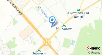 Киевский ипподром на карте