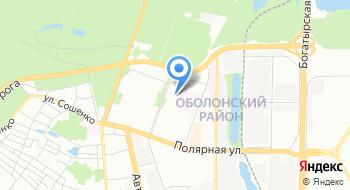 Отдел ГАИ по обслуживанию Оболонского района УГАИ ГУМВД Украины в городе Киеве на карте