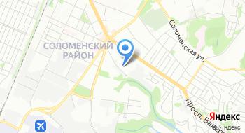 Участок Соломенка Первого украинского экспертного центра на карте