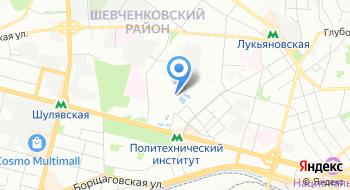 Киевский зоопарк на карте