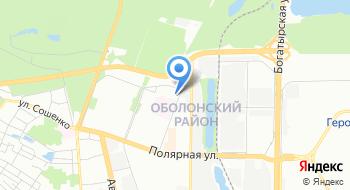 Киевская городская клиническая больница №8, травмпункт на карте