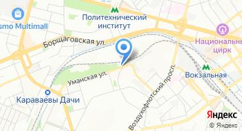 Вагонное депо Киев-Пассажирский Юго-Западной железной дороги на карте