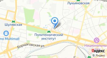 Представительство фонда АнтиСПИД США в Украине на карте