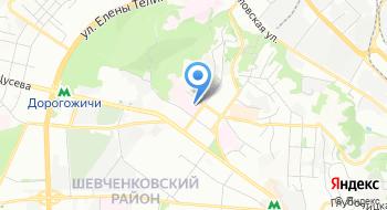 Киевская областная клиническая больница №1 на карте