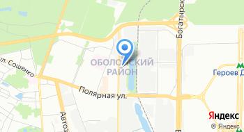 Компания О2Дизайн на карте