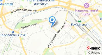 Заслуженный академический образцово-показательный оркестр Вооруженных Сил Украины на карте