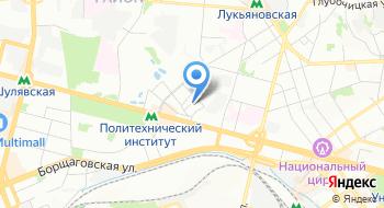 Магазин Марки Украины Киевской городской дирекции Укрпочта на карте