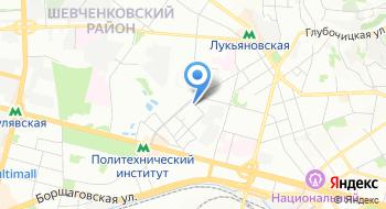 Курьерская служба Курьерская Авиапочта Украины на карте