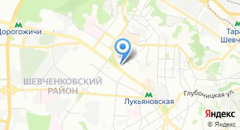 Общественное формирование по охране общественного порядка в Шевченковском районе г. Киева Общественная защита на карте