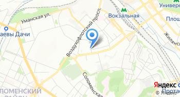 Учебный бизнес-центр Анастасия на карте