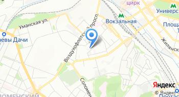 Украинская национальная внешнеэкономическая корпорация Важмашимпекс на карте