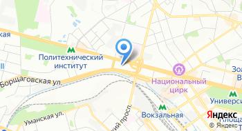 Центральный отдел государственной регистрации браков Главного управления юстиции в г. Киева на карте