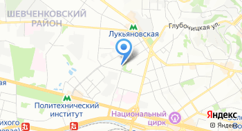 Киевская военно-картографическая фабрика на карте
