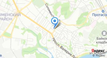 Ветеринарная аптека на Соломенке и Борщаговке на карте
