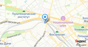 Украинский государственный расчетный центр международных перевозок на карте