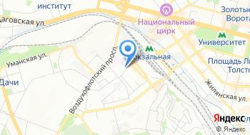 Свободный профсоюз машинистов Украины на карте